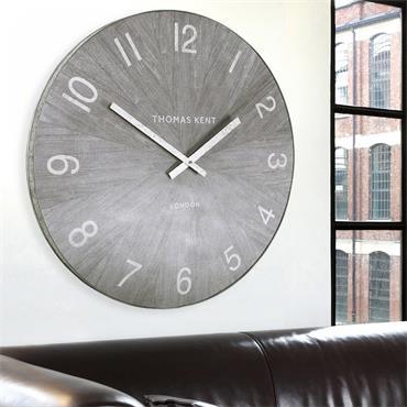 30'' Wharf Wall Clock Limestone