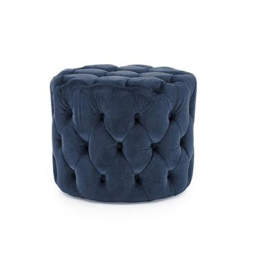 Poppy Footstool Midnight