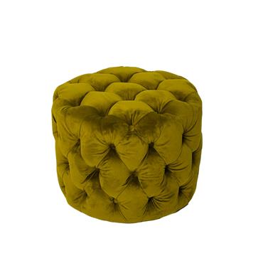 Poppy Footstool Moss