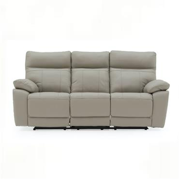 Bordeaux 3 Seater Recliner Light Grey