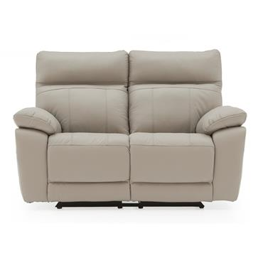 Bordeaux 2 Seater Recliner Light Grey