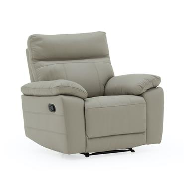 Bordeaux Recliner Light Grey