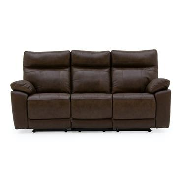 Bordeaux 3 Seater Recliner - Brown