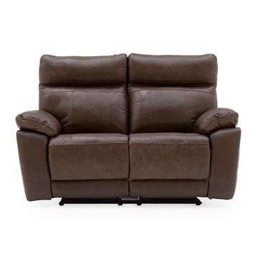 Bordeaux 2 Seater Recliner Brown