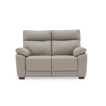 Bordeaux 2 Seater Fixed Light Grey
