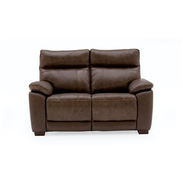 Bordeaux 2 Seater Fixed Brown