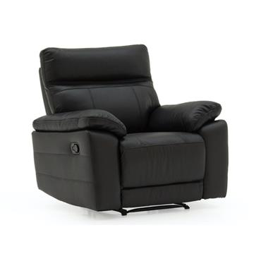 Bordeaux Recliner Black