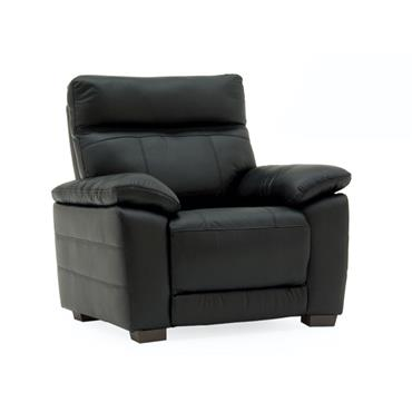 Bordeaux Fixed Armchair Black