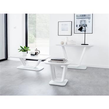 Jazz Coffee Table White Gloss