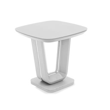 Jazz Lamp Table White Gloss