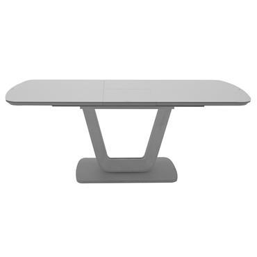 Jazz Dining Table Ext. Light Grey Matt 1.6-2.0m