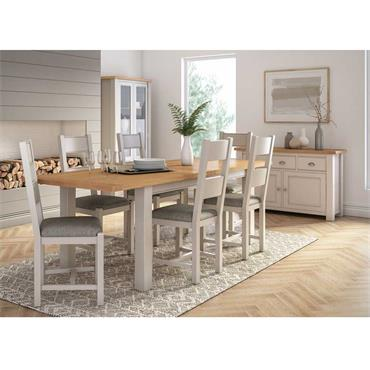 Cloud Dining Table Ext. 1.2-1.65m