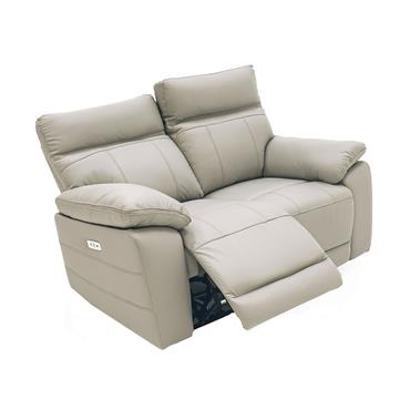Bordeaux 2 Seater Electric Light Grey