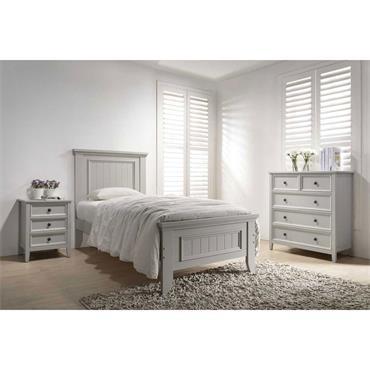 Mayne Pannelled 3' Bed Frame