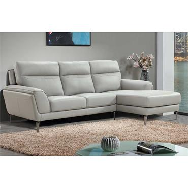 Estel Chaise Unit RHF Light Grey