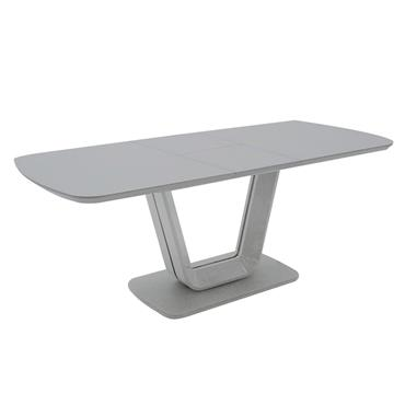 Jazz Dining Table Ext. Light Grey Matt 1.2-1.6m