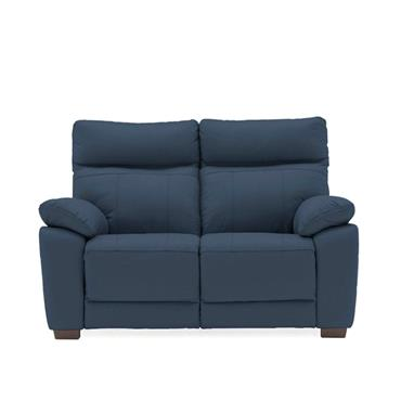 Bordeaux 2 Seater Fixed Indigo