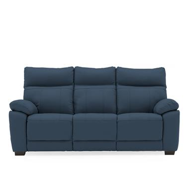 Bordeaux 3 Seater Fixed Indigo