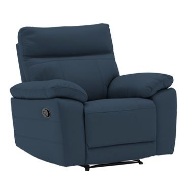 Bordeaux Recliner Indigo