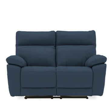 Bordeaux 2 Seater Recliner Indigo