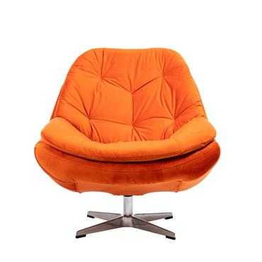 Dina  Swivel Chair - Fabric 0
