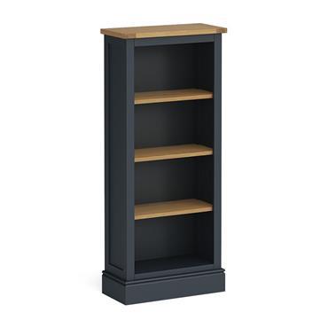 Atlantic Charcoal Slim Bookcase
