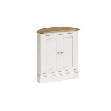 Shore Ivory Corner Cupboard