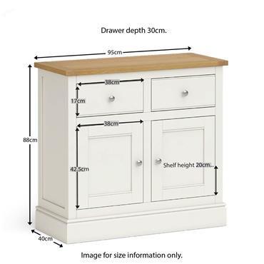 Shore Ivory Small Sideboard