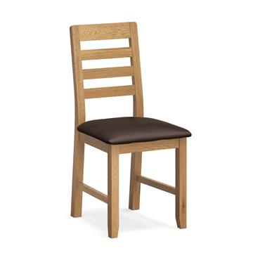 Ethan Dining Chair Brown PU