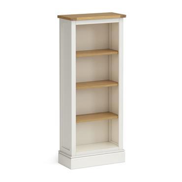 Shore Ivory Slim Bookcase