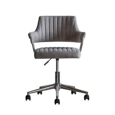 Mcintyre Swivel Chair Grey