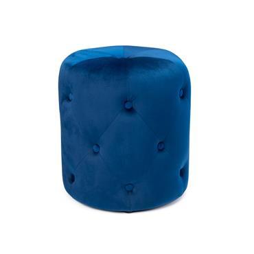 Parker Footstool Blue