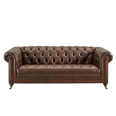 Windsor  3 Seater - Vintage Leather