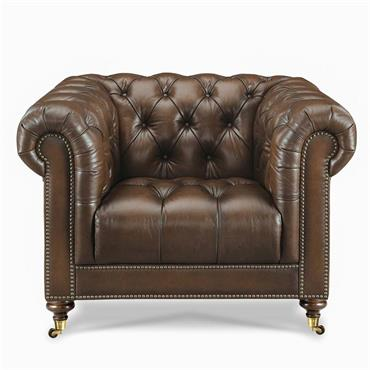 Windsor Leather Club Chair