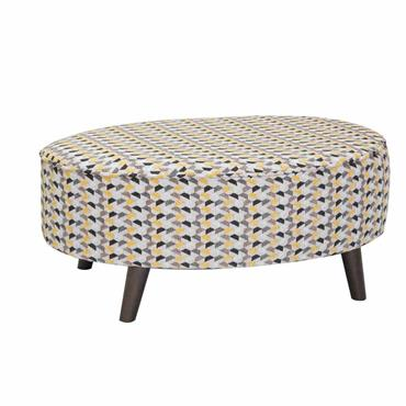 Carragh Oval Footstool