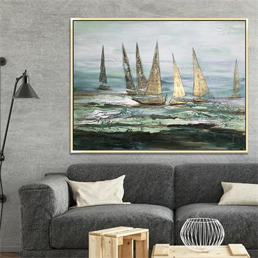 A Day Sailing 90x120cm