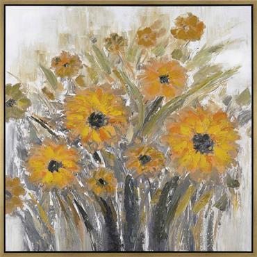 Picture Sunflowers 100x100cm