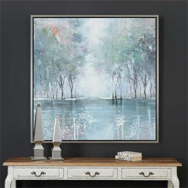 Picture The Pond 100x100cm