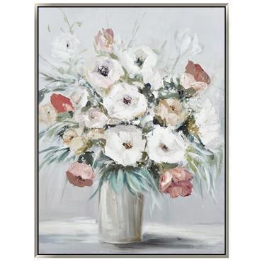 Flowers in Vase 90x120cm