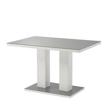 Bailey 1.6m Dining Table - Grey