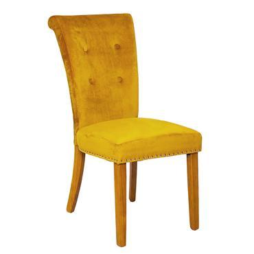 Lydia Chair Mustard Oak Leg