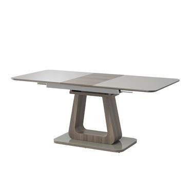 Alberta 1.4m Dining Table Grey - Grey Oak Extension