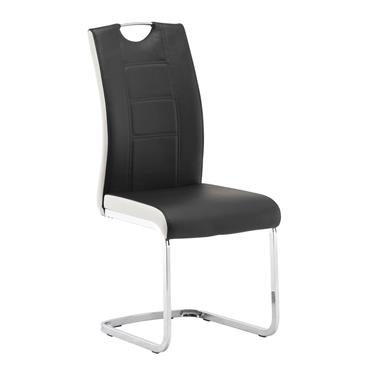 Vincent Chair Black/White