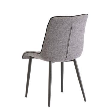 Lahinch Chair Grey Fabric