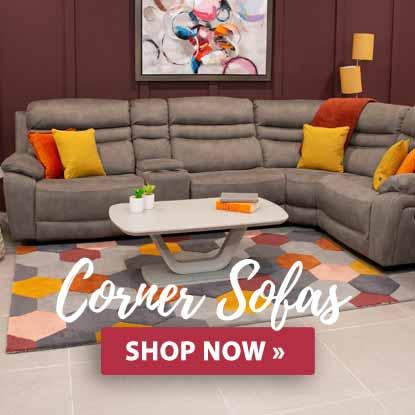 Castle Davitt Furniture Corner Sofa's