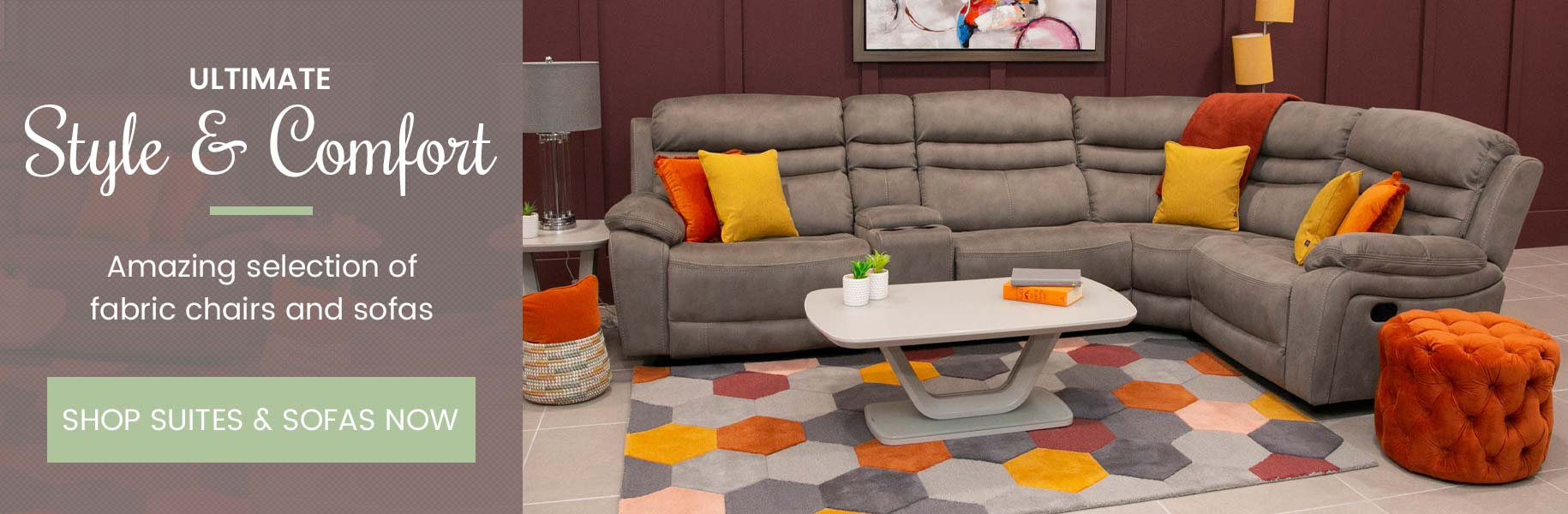 Ultimate style and comfort. Amazing selection of leather chairs and sofas. Shop Suites & Sofas now.