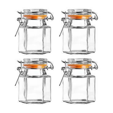 Kilner Hexagonal Spice Jars 90ml 4pce