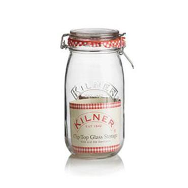 Kilner Round Cliptop Jar 1.5L
