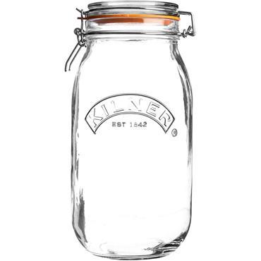 Kilner Round  Cliptop Jar 3L