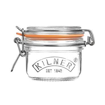 Kilner Clip Top Round Jar 125ml